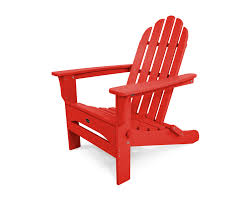 Outdoor Lounge Chair Dimensions Cape Cod Folding Adirondack Chair Trex Outdoor Furniture