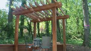 How To Build A Cheap Patio How To Build A Pergola Diy