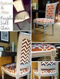 diy reupholstered side chair jenna burger