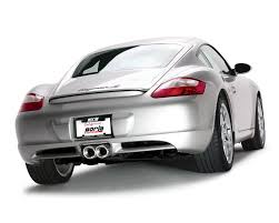 porsche boxster s exhaust amazon com borla 12653 cat back exhaust system cayman cayman s