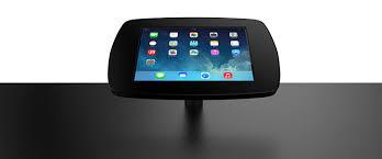 Tablet Desk Mount by Desk Mounted Ipad U0026 Tablet Kiosk Bouncepad Desk
