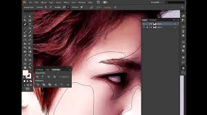 jual tutorial illustrator 04 tutorial vector portrait using adobe illustrator youtube