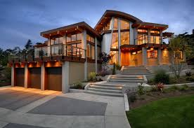 contemporary style architecture contemporary modern and futuristic looking home in canada