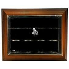 Display Case For Sale Ottawa Buy Ottawa Senators 30 Puck Case Up Display Case Brown In Cheap