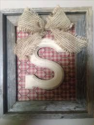 Monogrammed Scrapbook Best 25 Monogram Picture Frames Ideas On Pinterest Frame Wreath