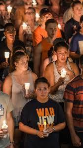 halloween city seabrook charlottesville violence uva vigil gratitude essay