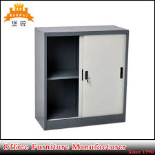 Small Office Cabinet China Professional Manufacturer Small Office Kd Sliding Glass