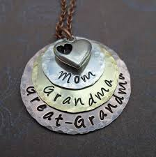 great necklace great necklace with heart mothers day