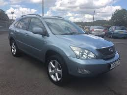 used lexus suv for sale in uk used 2006 lexus rx 300 le 3 0 4x4 automatic for sale in