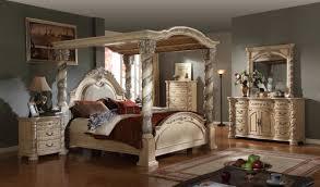 Bedroom  Black Bedroom Furniture Sets King Cool Features - Black canopy bedroom furniture sets