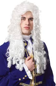 mens halloween wigs mens nobleman wig costume craze