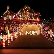 noel lights lights card and decore