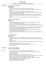 supervisor resume exles sales supervisor resume sles velvet