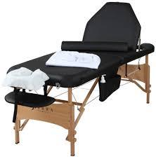 sierra comfort all inclusive portable massage table sierra comfort adjustable back rest all inclusive portable massage