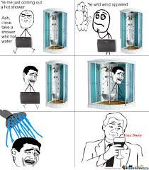 Meme Shower - take a shower true story by blazz 995 meme center