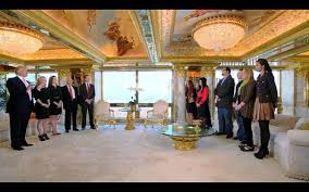 penthouse donald trump clay aiken and donald trump s penthouse apartment trump tower new