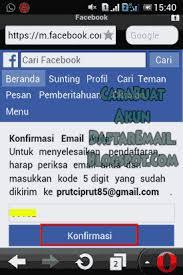 cara membuat akun gmail untuk facebook cara buat akun facebook di hp android dan daftar fb baru dengan