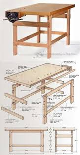 Woodworking Bench Plans Simple by Heavy Duty Workbench Plans Workshop Solutions Projects Tips And