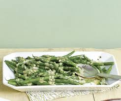 green beans with parsley and sesame tahini sauce finecooking