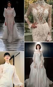 wedding dress trend 2018 trend alert 2018 wedding dress trends the bijou