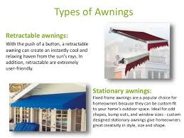 Awning Sizes Awnings Provide Neutral Cooling To Home