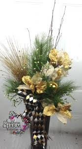 63 best christmas flower arrangements images on pinterest