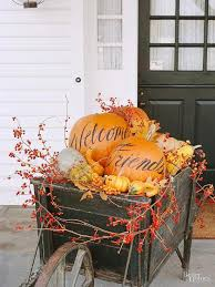 fall decor ways to decorate with pumpkins