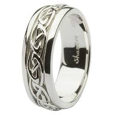 mens celtic wedding rings moritz flowers