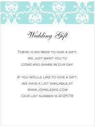 wedding gift list poem midway media