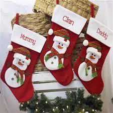 personalised christmas stockings personalised christmas