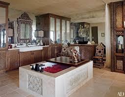 Kim Kardashian New Home Decor 22 Luxury Bathrooms In Celebrity Homes Photos Architectural Digest