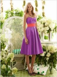 purple and orange wedding dress bright wedding colours