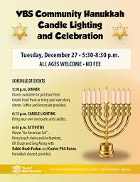 where can i buy hanukkah candles vbs community hanukkah candle lighting valley beth shalom