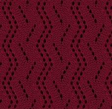 zig zag knitting stitch pattern vertical zig zag lace knitting stitch pattern knitting kingdom