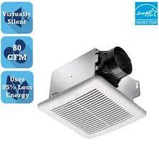 2100 Hvi Bathroom Fan Nutone Invent Series 80 Cfm Ceiling Bathroom Exhaust Fan Arn80