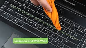 how to clean a laptop keyboard 11 steps with pictures wikihow