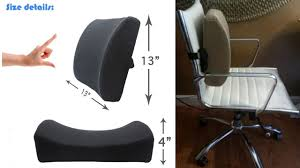 Lower Back Chair Support Lumbar Support Pillow By Love Home U2013 Exclusive Lower Back Support