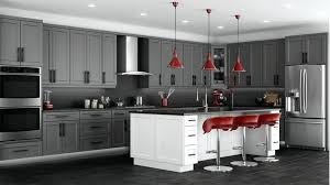 grey kitchen cabinets ideas grey kitchen cabinets medium gray cabinets with white and dark light