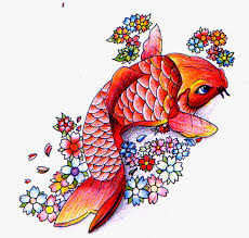 a design worth consideration is the koi fish tattoo they are very