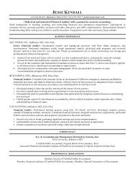 Quality Auditor Resume Example Financial Auditor Resume Free Sample