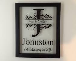 personalized sign etsy