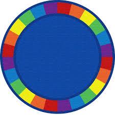 Circle Area Rug Kid Carpet Blue Circle Area Rug Reviews Wayfair Ca