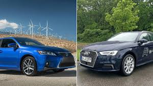 lexus ct200h used toronto hybrid hatchback faceoff audi a3 e tron vs lexus ct 200h the