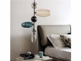 italia design multispot tooby borosilicate glass pendant l by fabbian