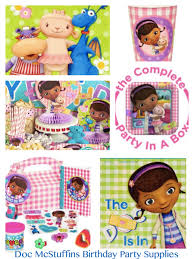 Doc Mcstuffins Home Decor Doc Mcstuffins Birthday Party Planning Ideas U0026 Supplies