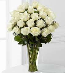 2 dozen roses dozen white roses