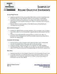 resume objective statement exles management companies resume resume objective statement exles