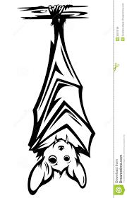 hanging bat drawing u2013 fun for halloween
