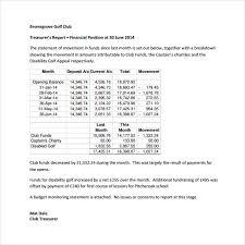 treasurer s report agm template treasurer report template beneficialholdings info