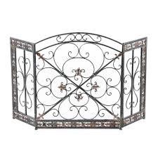 decorating extra large fireplace screens with new model design